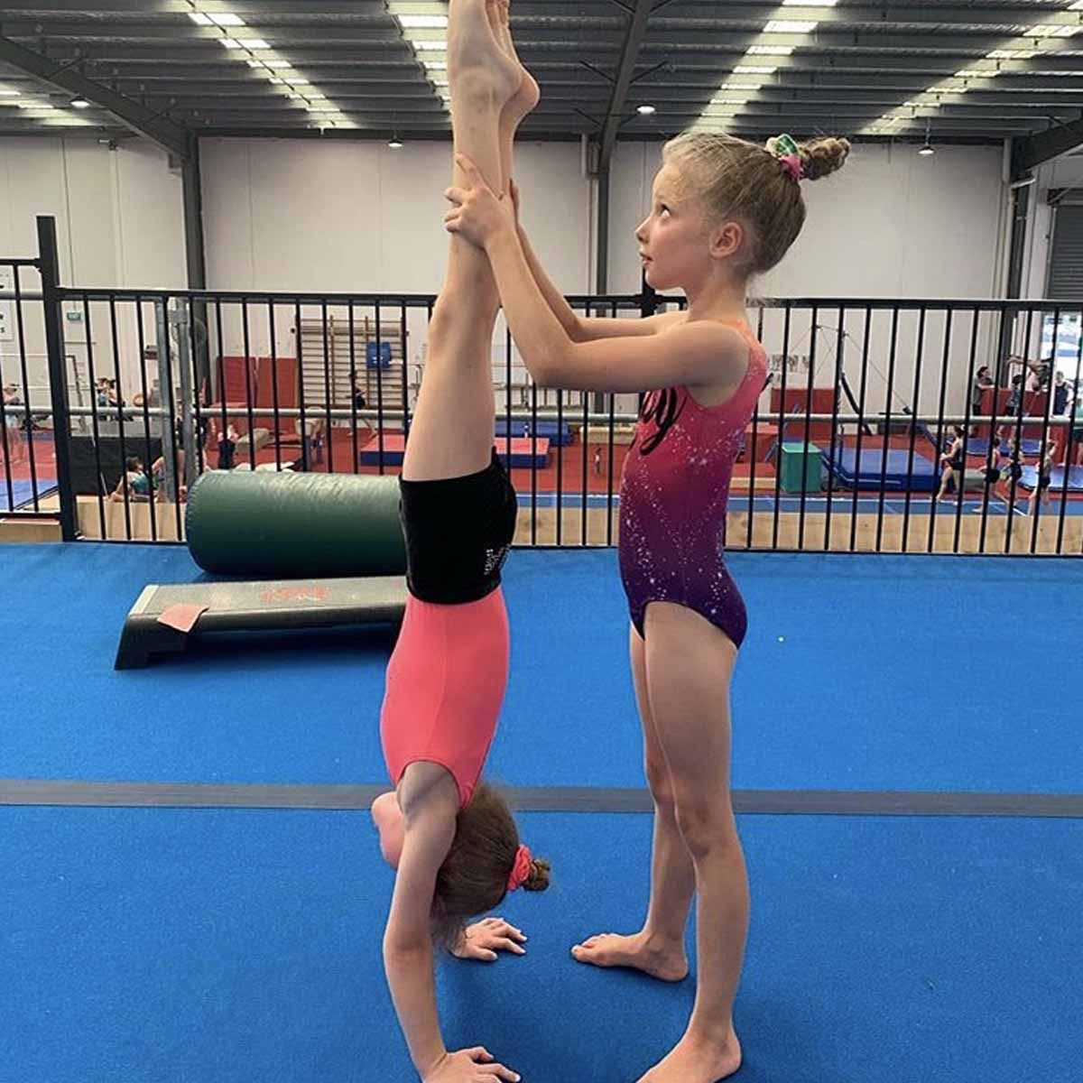 Program Recreational Gymnastics Girls
